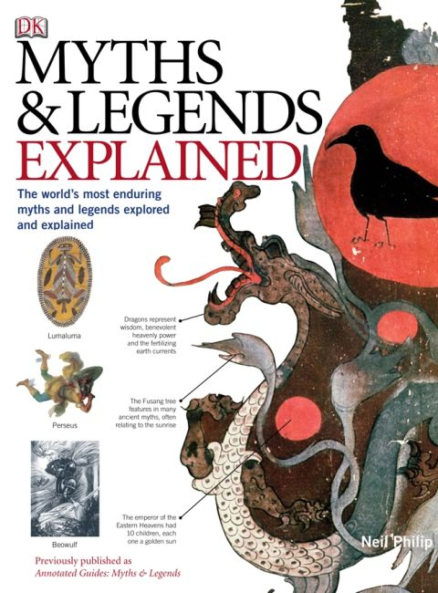 eBook cover of Myths and Legends Explained