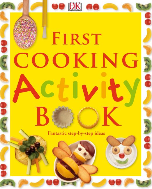 eBook cover of First Cooking Activity Book