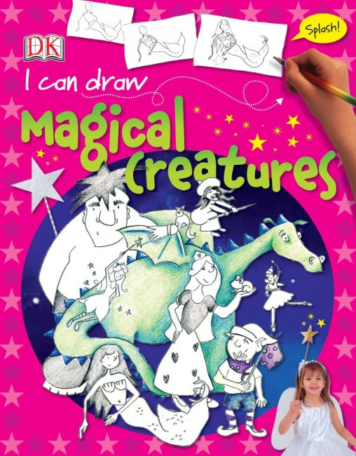 eBook cover of I Can Draw Magical Creatures