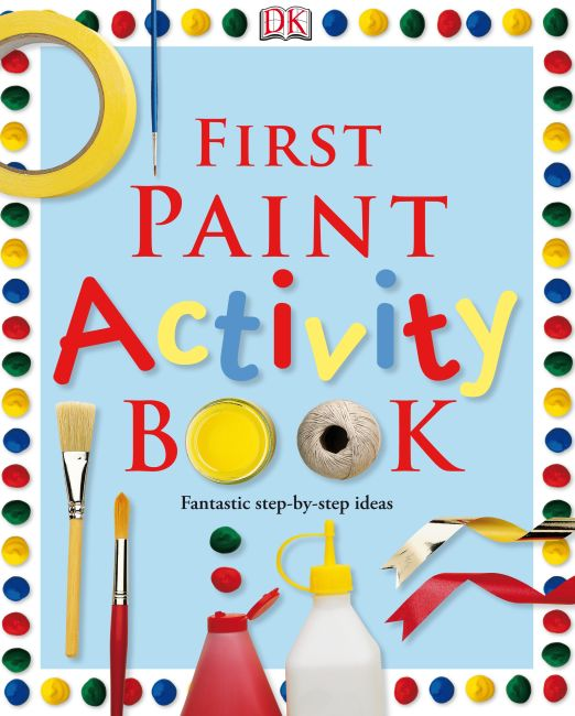 eBook cover of First Paint Activity Book