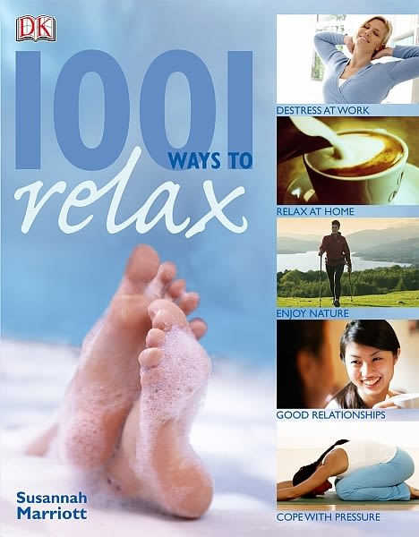 eBook cover of 1001 Ways to Relax