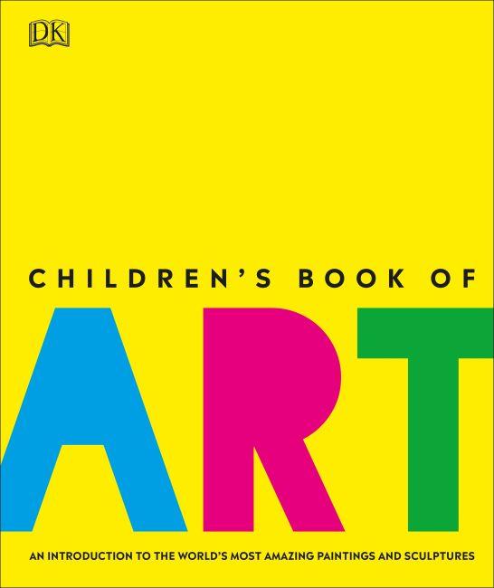 Hardback cover of Children's Book of Art