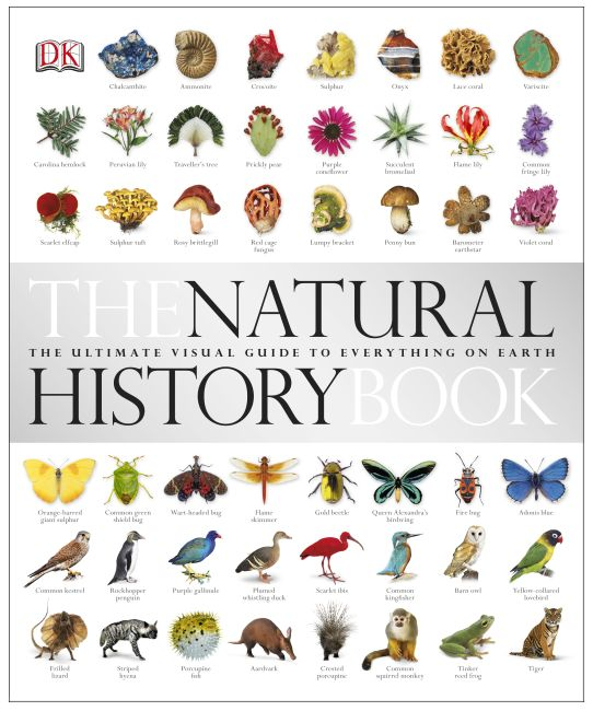 Hardback cover of The Natural History Book