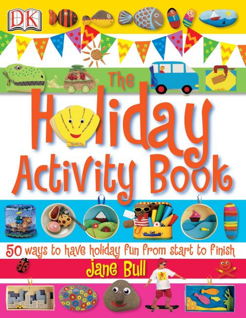 eBook cover of The Holiday Activity Book
