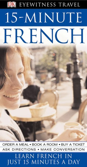 eBook cover of 15-Minute French
