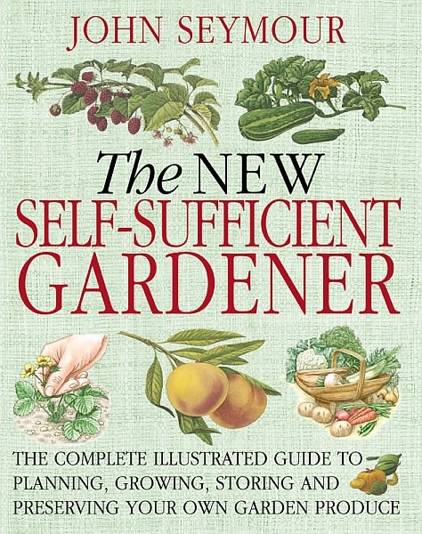 eBook cover of The New Self-Sufficient Gardener
