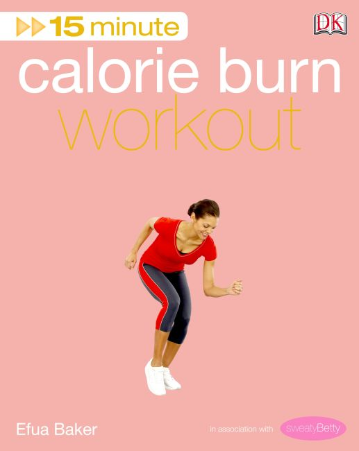 eBook cover of 15 Minute Calorie Burn Workout