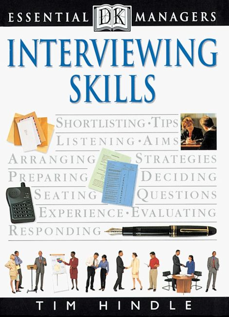 eBook cover of DK Essential Managers: Interviewing Skills
