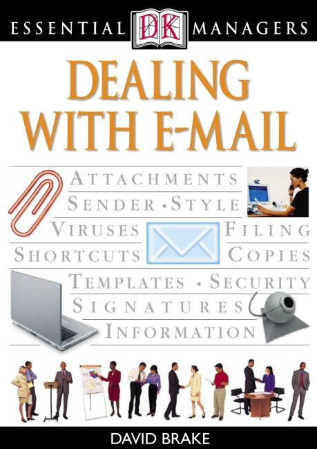 eBook cover of Dealing with E-mail