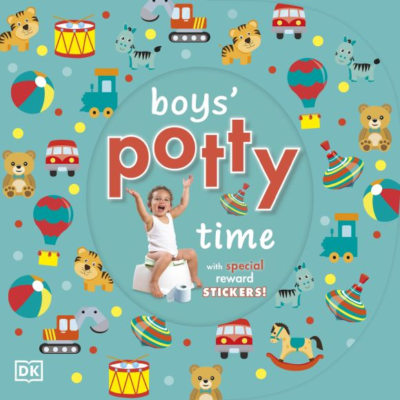 Board book cover of Boys' Potty Time