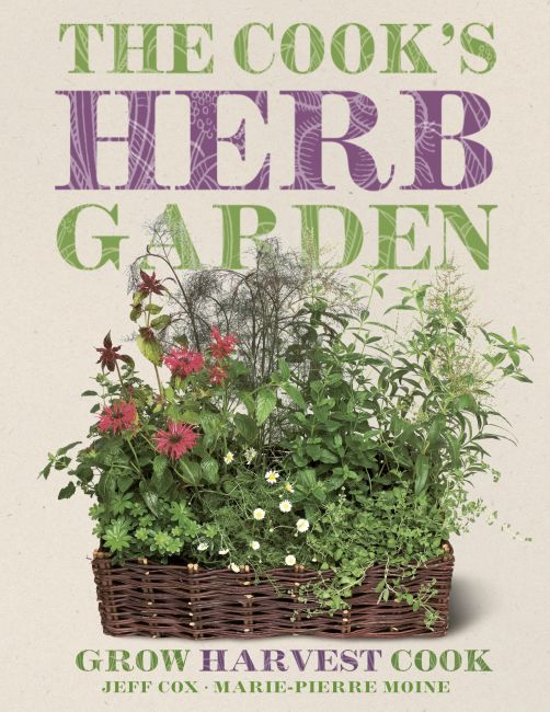 eBook cover of The Cook's Herb Garden
