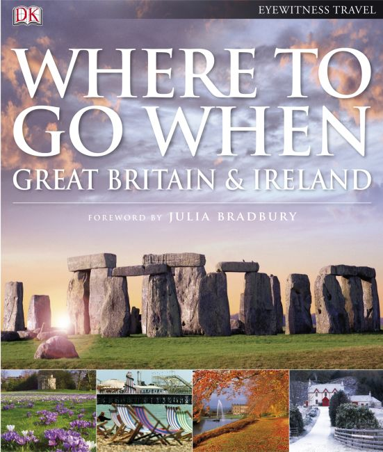 eBook cover of Where To Go When: Great Britain & Ireland