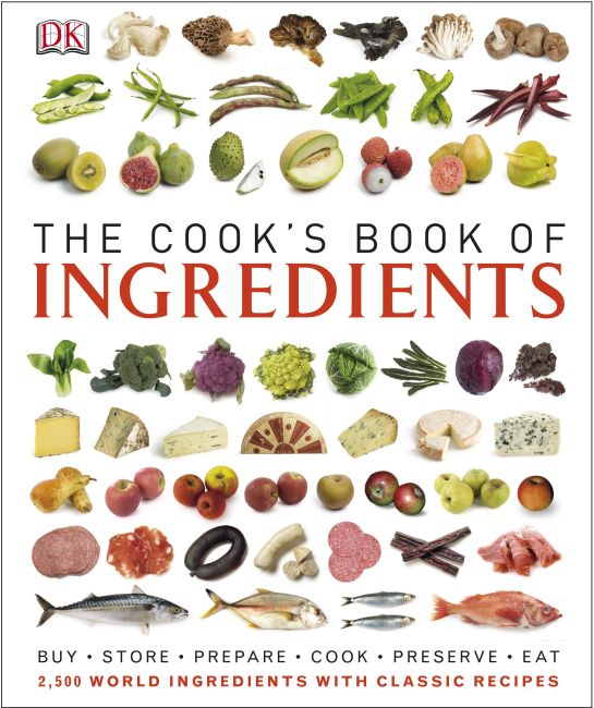 Hardback cover of The Cook's Book of Ingredients