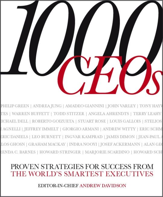 eBook cover of 1000 CEOs