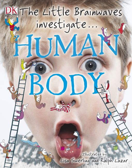 eBook cover of The Little Brainwaves Investigate Human Body