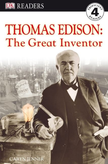 eBook cover of Thomas Edison - The Great Inventor