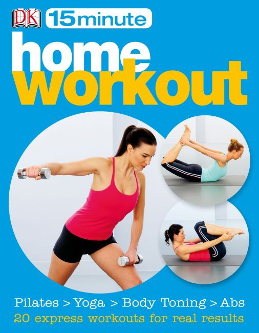 eBook cover of 15 minute Home Workouts