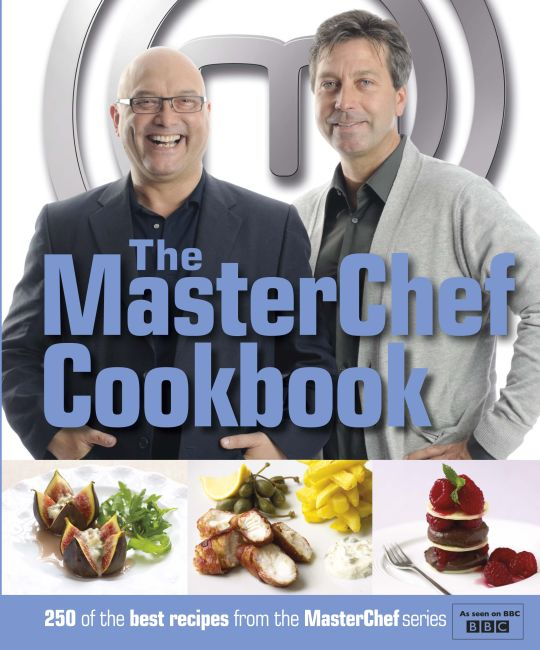 eBook cover of MasterChef Cookbook