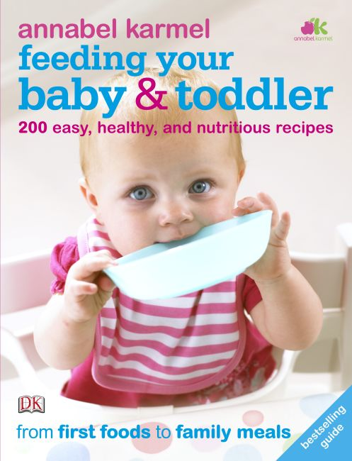 Paperback cover of Feeding Your Baby and Toddler