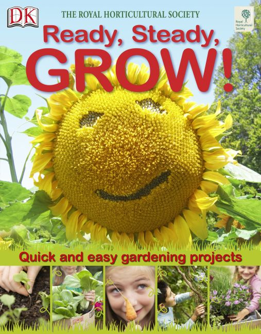 eBook cover of RHS Ready, Steady, Grow!