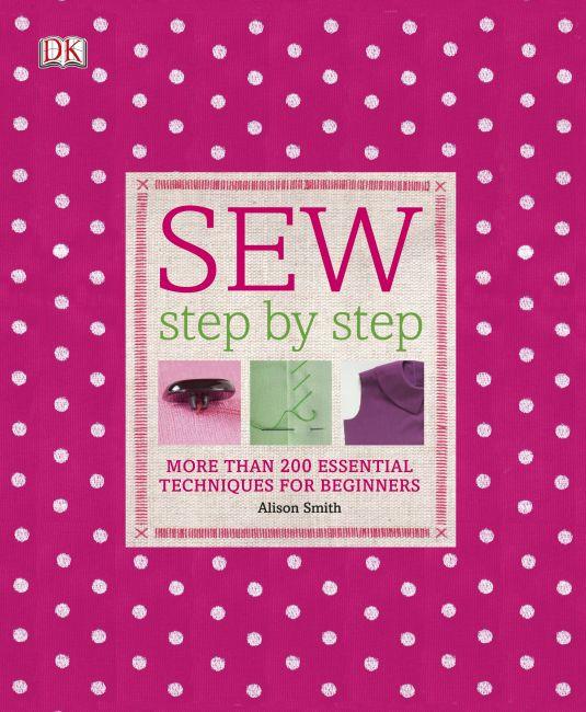 Hardback cover of Sew Step by Step