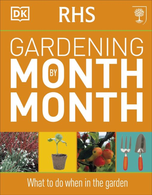 Flexibound cover of RHS Gardening Month by Month