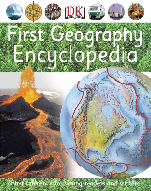 eBook cover of First Geography Encyclopedia