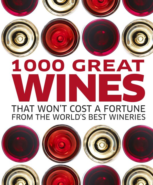 eBook cover of 1000 Great Wines That Won't Cost a Fortune