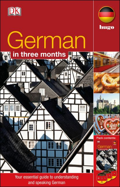 Mixed Media cover of German In 3 Months