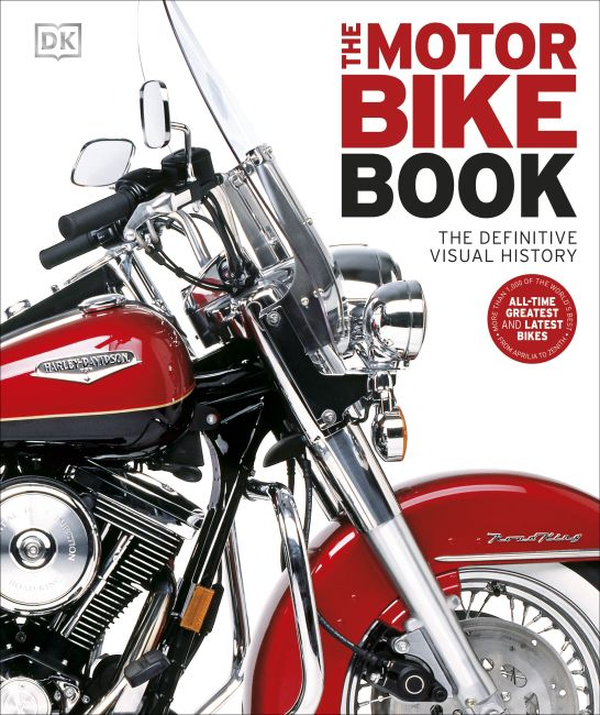 Hardback cover of The Motorbike Book