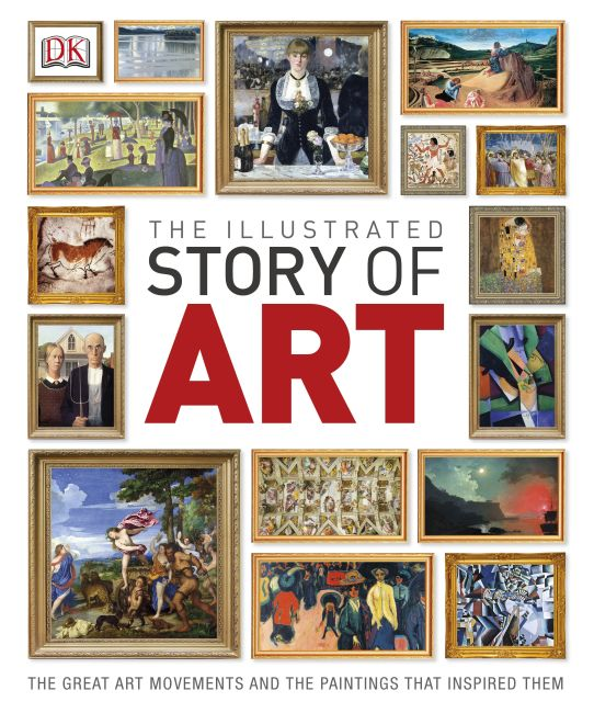 Hardback cover of The Illustrated Story of Art