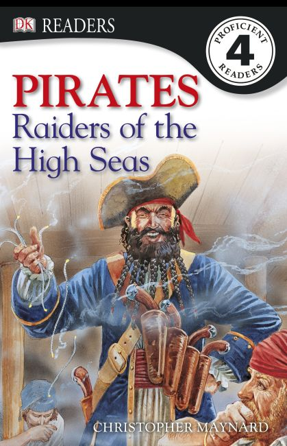 eBook cover of Pirates! Raiders Of The High Seas