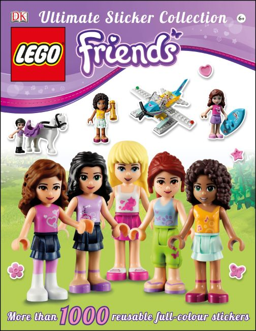Paperback cover of LEGO® Friends Ultimate Sticker Collection
