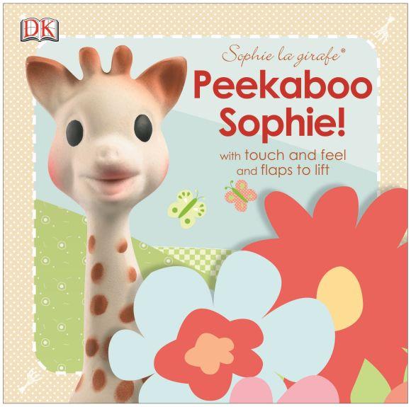 Board book cover of Sophie la girafe Peekaboo Sophie!