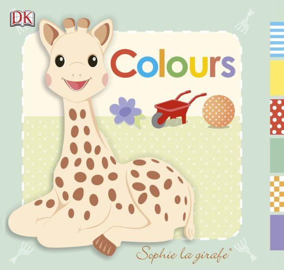 Board book cover of Sophie la girafe Colours