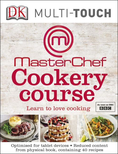eBook cover of MasterChef Cookery Course