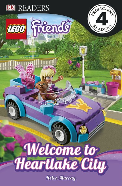 eBook cover of LEGO® Friends Welcome to Heartlake City