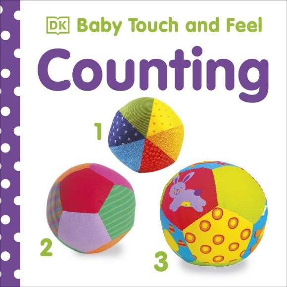 Board book cover of Baby Touch and Feel Counting