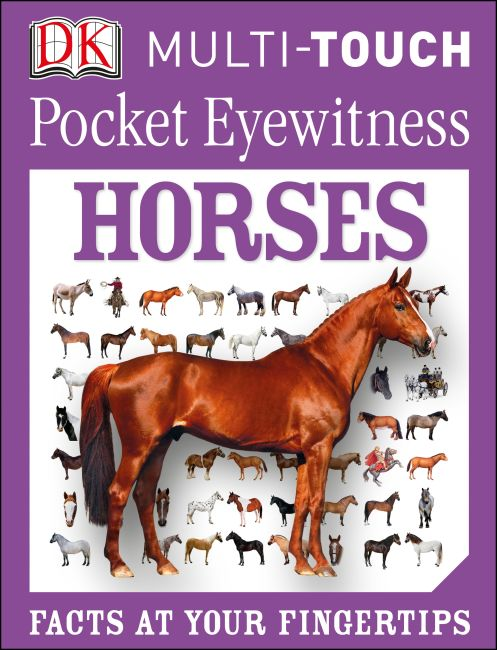 eBook cover of Pocket Eyewitness Horses