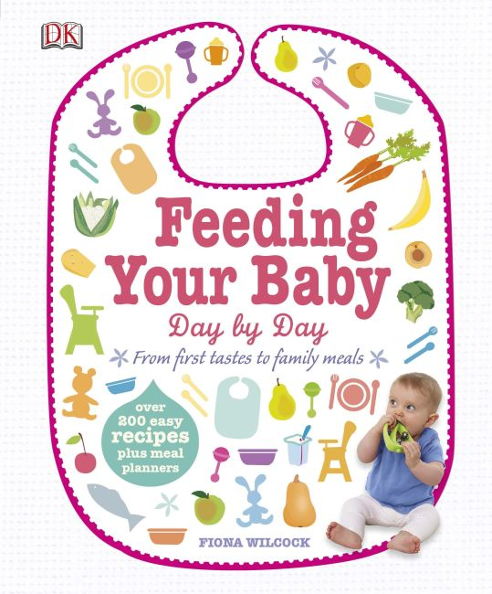Hardback cover of Feeding Your Baby Day by Day