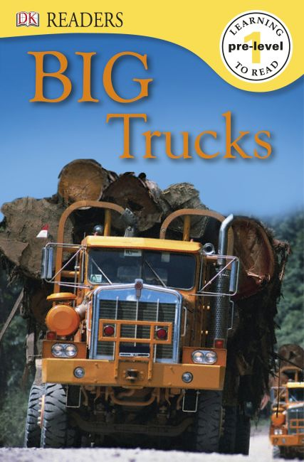 eBook cover of Big Trucks