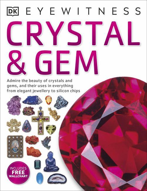 Paperback cover of Crystal & Gem