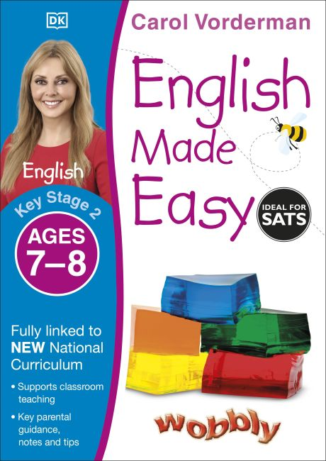 Paperback cover of English Made Easy Ages 7-8 Key Stage 2