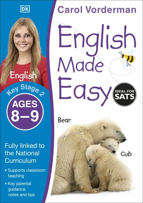 Paperback cover of English Made Easy Ages 8-9 Key Stage 2