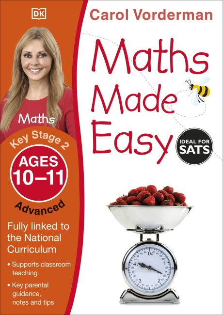 Paperback cover of Maths Made Easy Ages 10-11 Key Stage 2 Advanced