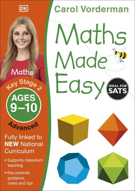 Paperback cover of Maths Made Easy Ages 9-10 Key Stage 2 Advanced