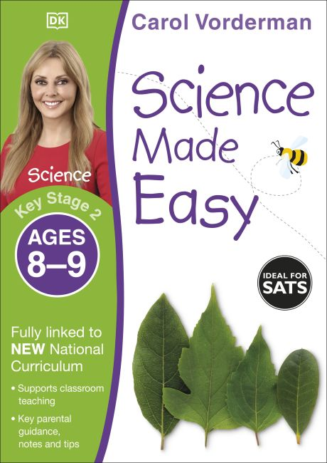 Paperback cover of Science Made Easy Ages 8–9 Key Stage 2