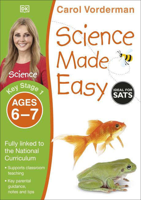 Paperback cover of Science Made Easy, Ages 6-7 (Key Stage 1)