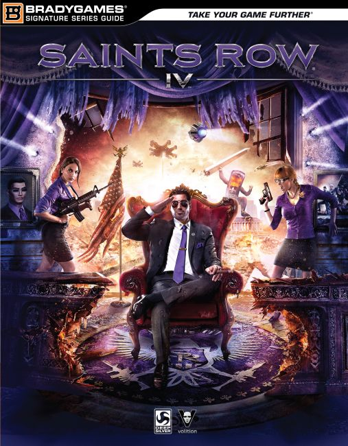 eBook cover of Saints Row IV Signature Series Strategy Guide