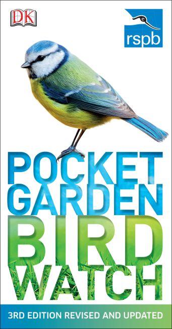 Paperback cover of RSPB Pocket Garden Birdwatch